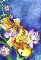Koi_carp_water_colour_by_LittleLionMan10