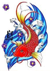 outras-preliminares-carpa-koi-tattoo-d-v-tattoodonkey.com