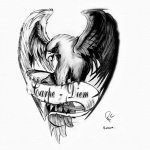 carpe-diem-eagle-by-cantrellflash-on-deviantart-n-a-tattoodonkey.com
