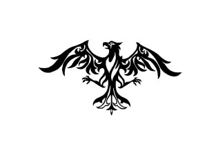 eagle_with_long_wings_tattoo_design