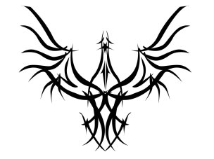 interesting_tribal_eagle_tattoo