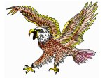 multi_color_mad_eagle_tattoo_drawing