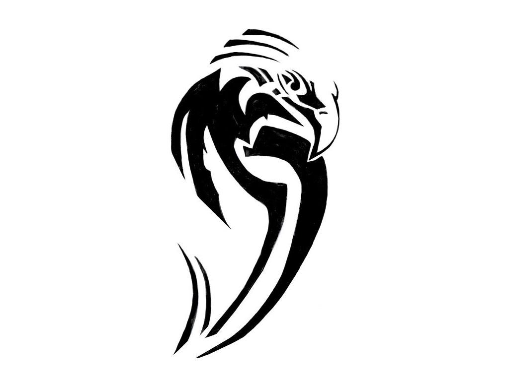 Tribal eagle face tattoo aido bonsai for Tribal eagle tattoos