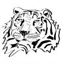 13122989-tiger-head-tattoo-silhouette