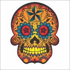 Adesivo-decorativo-de-parede-curitiba-cola-design-descolados-C104-Caveira-Mexicana