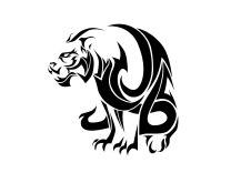 big_evil_tribal_tiger_tattoo