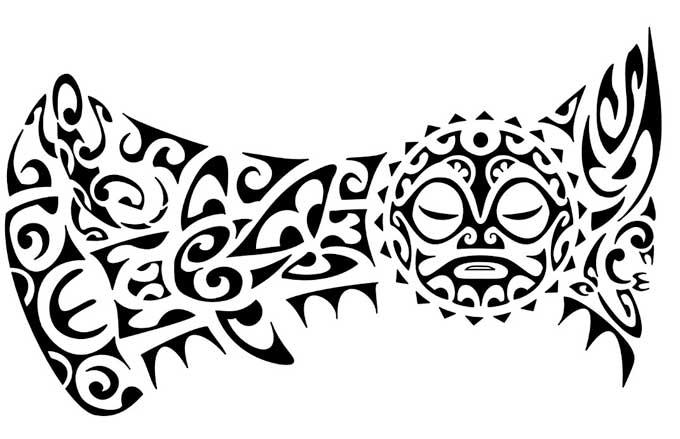 Desenho Tatuagem Maori12 Aido Bonsai