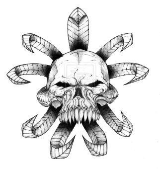 evil-skulls-drawings-8118