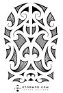 full_size_maori_tattoo design