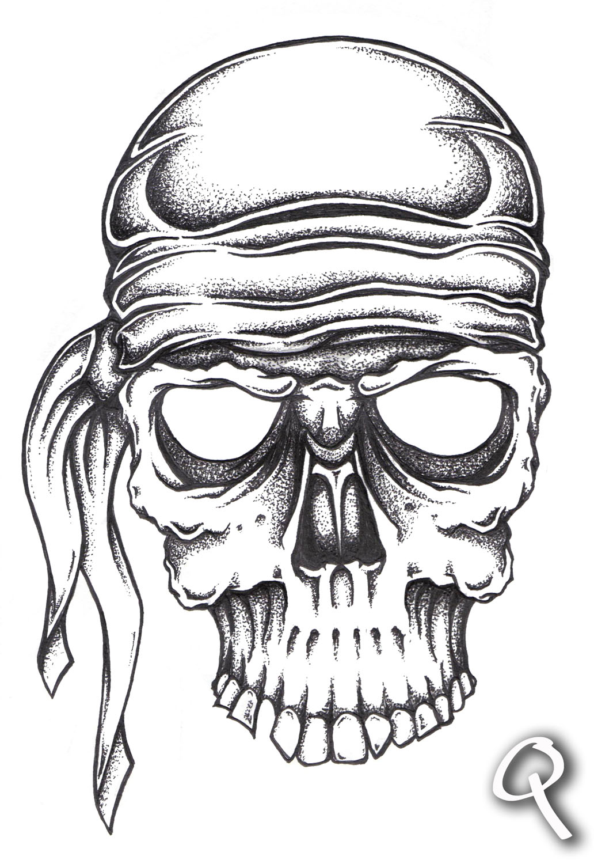 Lake And Bay Pirate Skull By Quintdesigns Aido Bonsai