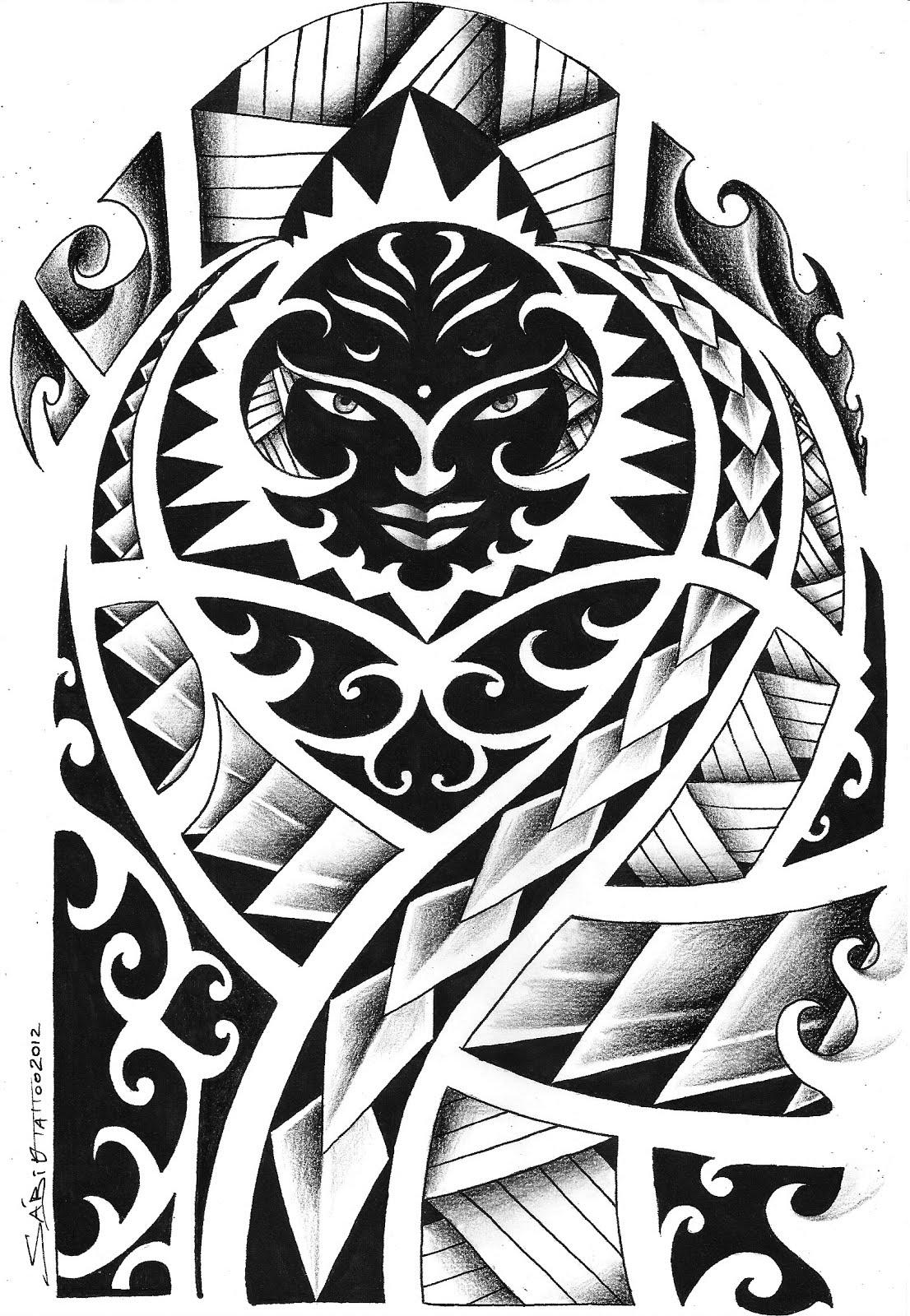 100 desenhos Tribais » maori 28f digitalizar0062
