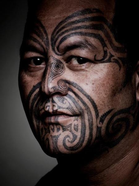 maori-face-tattoo
