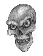 Skull_in_Pencil_by_abeekman