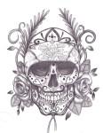 sugar-skull-dia-de-los-muertos-tattoo-smaple