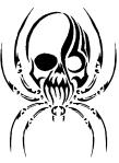 Tattoo_Spier_Skull_by_DisturbedNerd