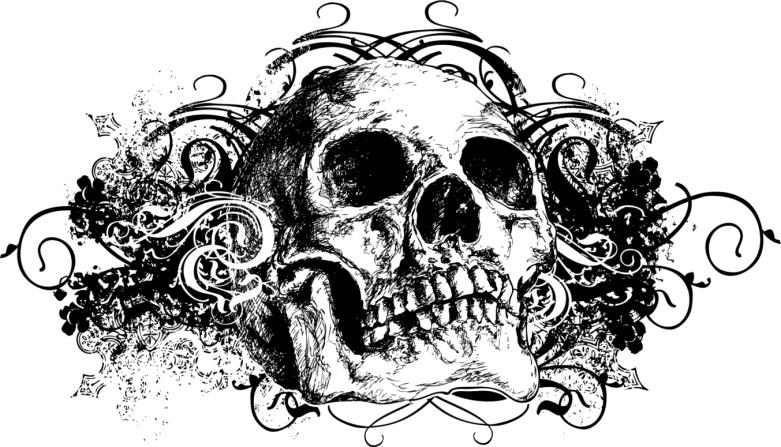 100 desenhos de caveira » Tatuagem-de-caveira-saiba-os-significados ...