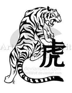 Tiger Tattoo Concept
