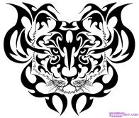 Tiger Tattoo Pattern11