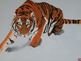 Tiger_Painting_by_NorthmansOatmeal