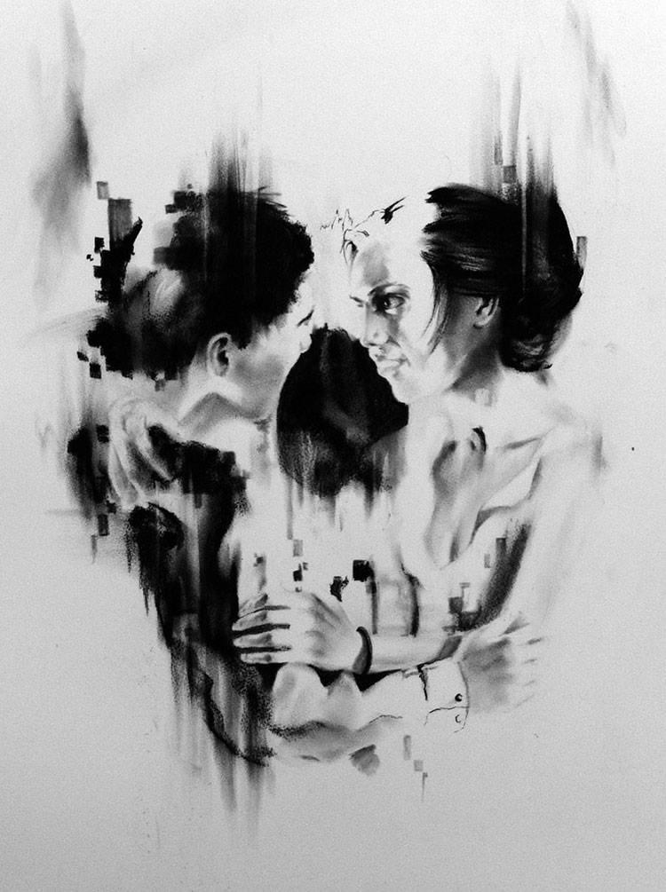 Skull Illusion Art