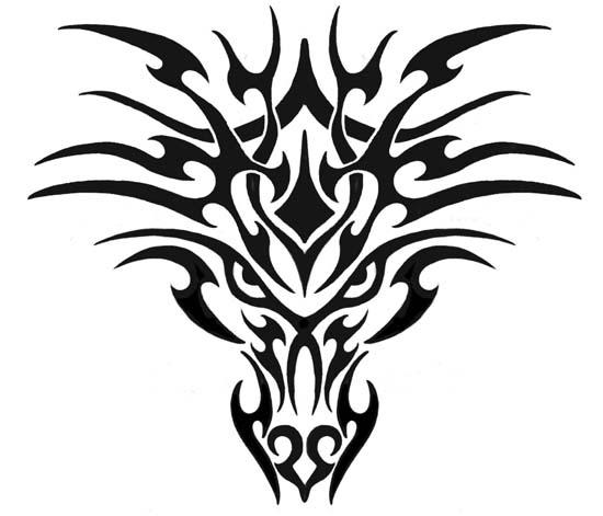 100 desenhos Tribais » Tribal-Tattoo-Design