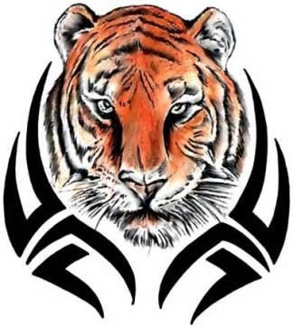 tribal-tiger-tattoo