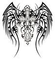 tribal_wings_cross_design_by_twz-1