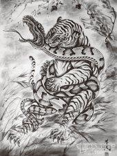 1003_lrap_22_o tattoo_artist_horiyoshi_iii tiger_and_snake