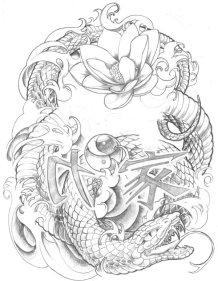 fc08.deviantart.net*fs51*i*2009*289*6*9*Japaness_Snake_Tattoo_Sleeve_by_brado23