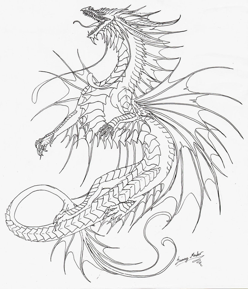 sea serpent coloring pages - photo#14