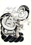 Snake__n__Koi_by_leCCio