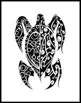 desenhos-de-tartarugas-para-tatuagens-tribais-5
