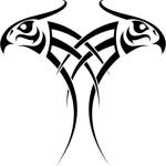 eagle black tattootribal