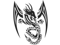 sharpen_tribal_dragon_tattoo_idea