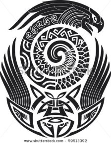 stock-vector-tribal-tattoo-pattern-fit-for-a-shoulder-vector-illustration-59513092