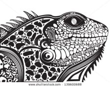 stock-vector-vector-illustration-of-a-totem-tattoo-animal-lizard-head-139600688