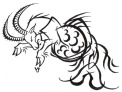 Tribal-Design-Capricorn-Tattoo-Ideas