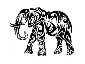 tribal-tattoos-elephant-118