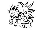 tribal_griffin_in_black_tattoo_art-1