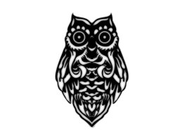 tribal_owl_with_big_eyes_tattoo_idea