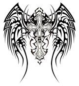 tribal_wings_tattoo