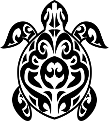 turtle_tribal_tattoo