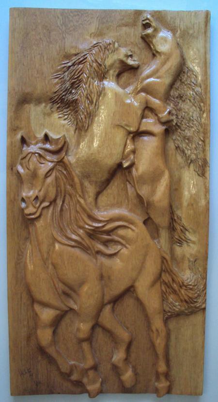 art-wood-carving-escultura-parede-madeira-entalhe-woodcarving-horses-cavalos